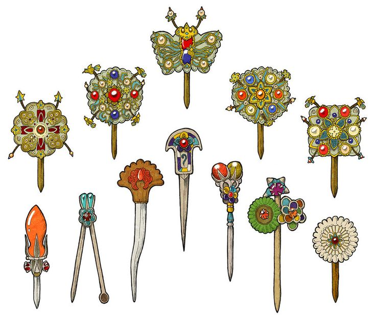 """""""Tteoguji"""" was a butterfly-shaped wooden accessory for palace ladies' ceremony event - like a royal wedding. But in fact, the queen and other high-level royal ladies had to use Tteoguji even in nor..."""