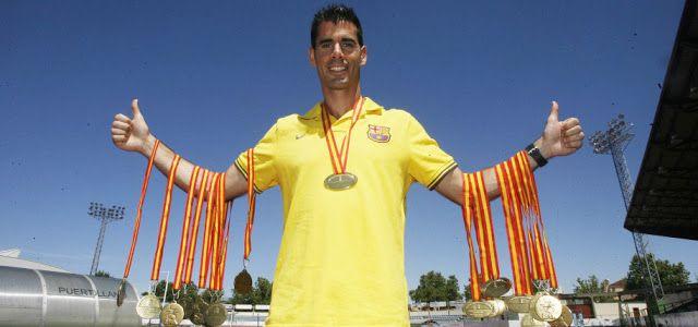 atletismo y algo más: Recuerdos año 2013. #Atletismo. 10572. Javier Berm...