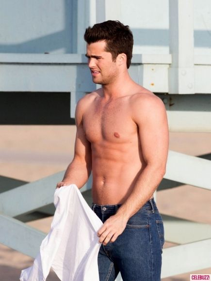 Spencer Boldman Poses with Pups for a Good Cause / 12