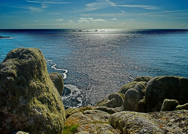 Serene sea by David Simmonds. #coast #Cornwall