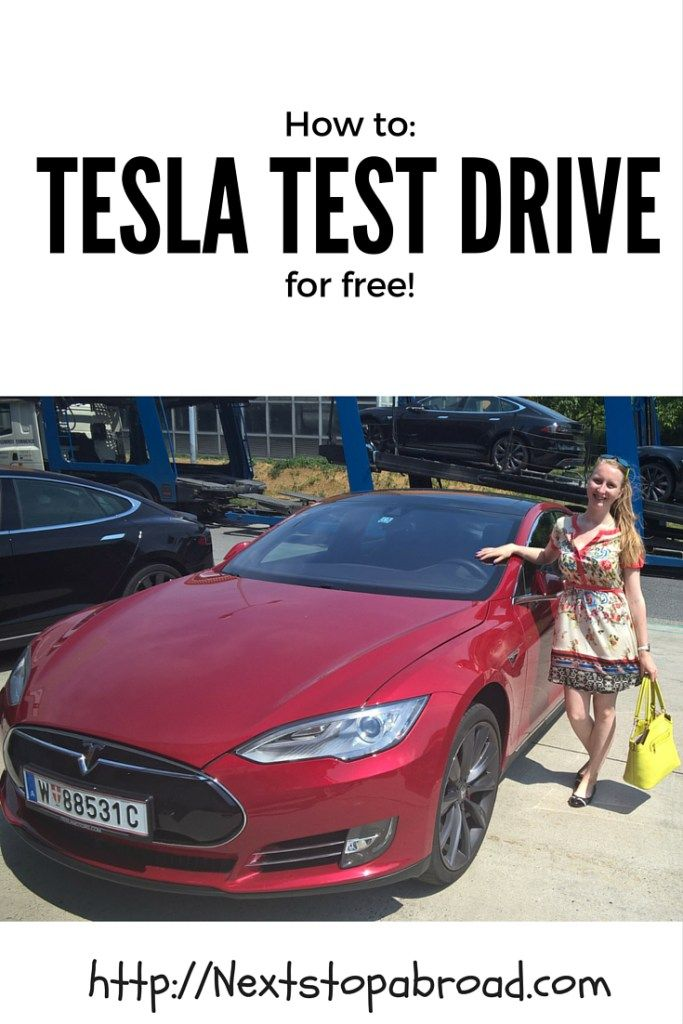 Tesla test drive for free