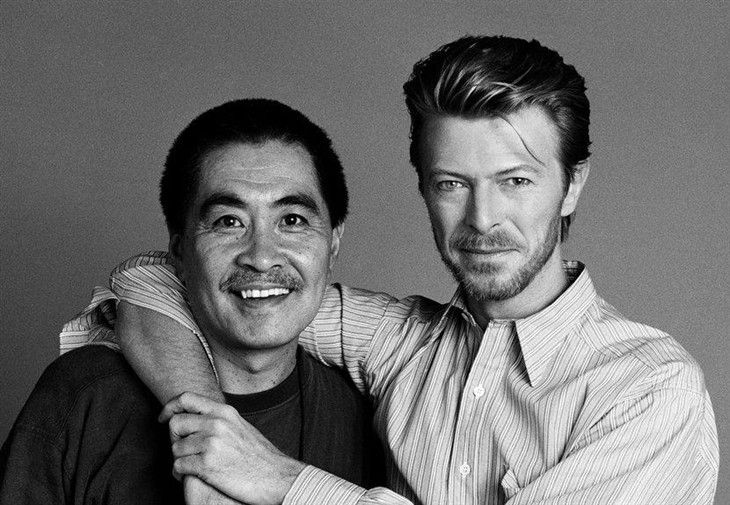 #Bowie with his Japanese Friends