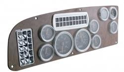 semi truck accessories interior | ... 387 Warning Light Trim Chrome Interior Accessories Semi Truck | eBay