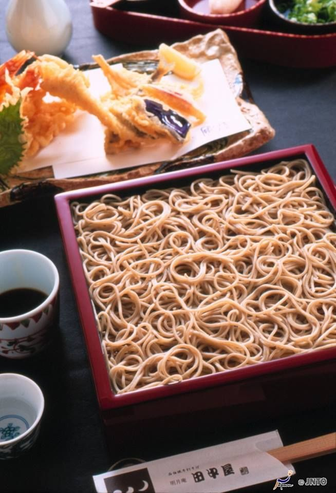 Japanese festive noodles for a new year's eve, Tohsikoshi-soba 年越しそば: Toshikoshi soba is eaten before midnight on the 31st, to pray for good health for the new year and a life that's as long as the noodles themselves.