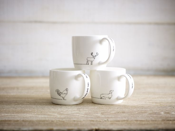 Cute animal mugs!