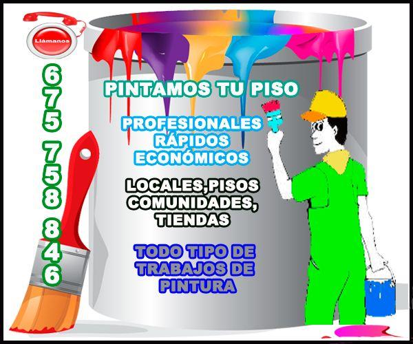 0,00€ · Pintores Profesionales Barcelona · Realizamos todo tipo de trabajo de Pintura. Somos Profesionales - Rápidos - Económicos. Pintamos Pisos - Pintamos Chalets - Pintamos Comunidades - Pintamos Locales - Pintamos Tiendas - Pintamos Oficinas. Realizamos Trabajos de Decoración Profesional. Pintamos con Spray. Pintamos Fachadas y Comunidades. Hacemos Impermeabilizaciones de Terrazas. Barnizados de Terrazas, Impermeabilizaciones de Cubiertas, Revestimiento de Fachadas. Trabajos…