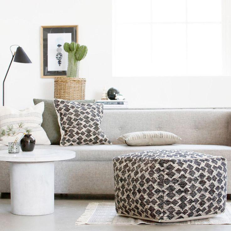 Kauniit tekstiilit tuovat kodikkuutta olohuoneeseen