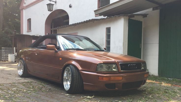 Audi 80 Cabrio Front and Rear 10x17