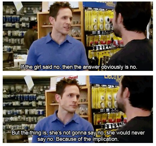 Dennis Reynolds the implications