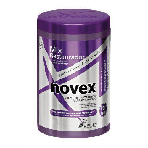 nice Embelleze Novex Recovering Mix Hair Care Treatment Cream - 14.1 Oz | Embelleze Novex Mix Restaurador Creme de Tratamento Capilar - 400 g