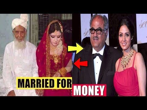 Top 5 #popular  #actresses  Who #married  Only for #money