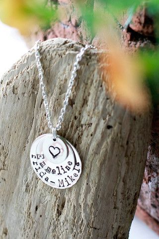 SILVER: three layers with a heart