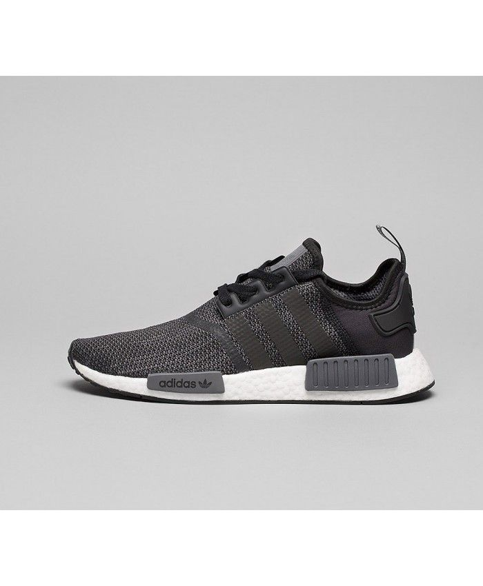 super popular new products huge inventory Adidas NMD R1 Trainers In Black Carbon | Cheap adidas shoes ...