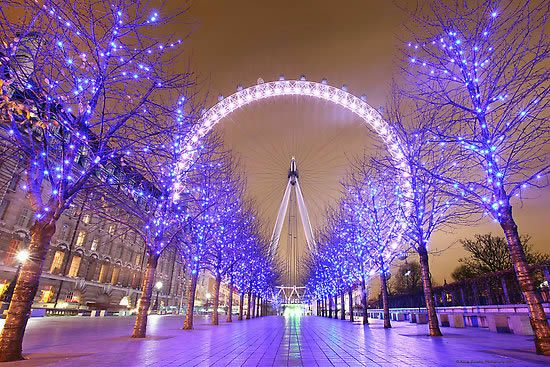 Top Five Christmas Holiday Spots in Europe - starting with London!  #best #europe #christmas