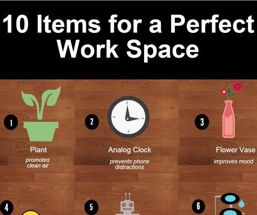10 desk items and decorations to create the perfect working environment - Office Desk Decor