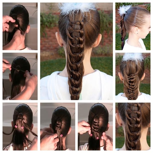 Wondrous 1000 Images About Easy Hairstyle Ideas On Pinterest Flower Hairstyles For Women Draintrainus