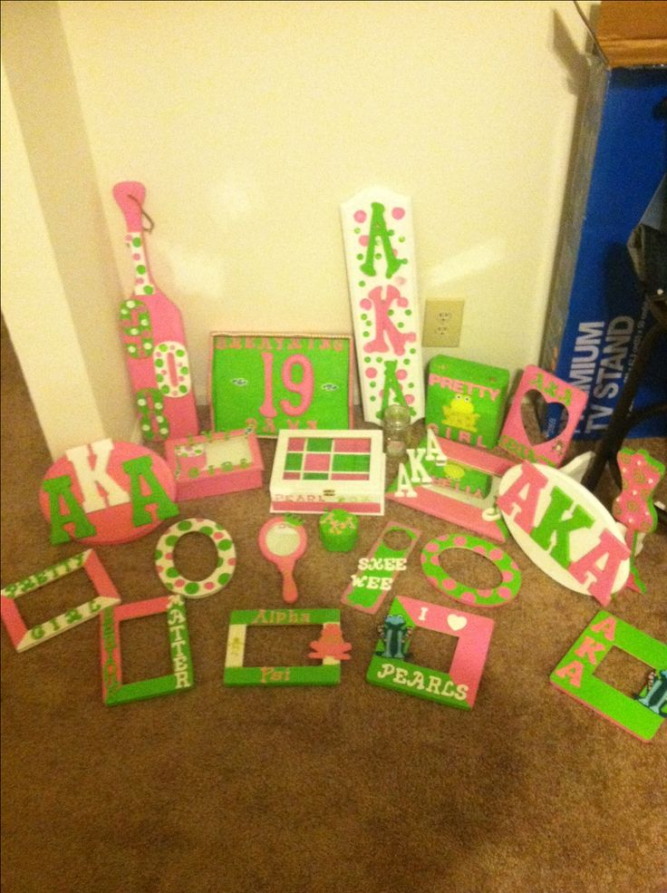 Homemade Aka Probate Gifts Dear Alpha Kappa Alpha