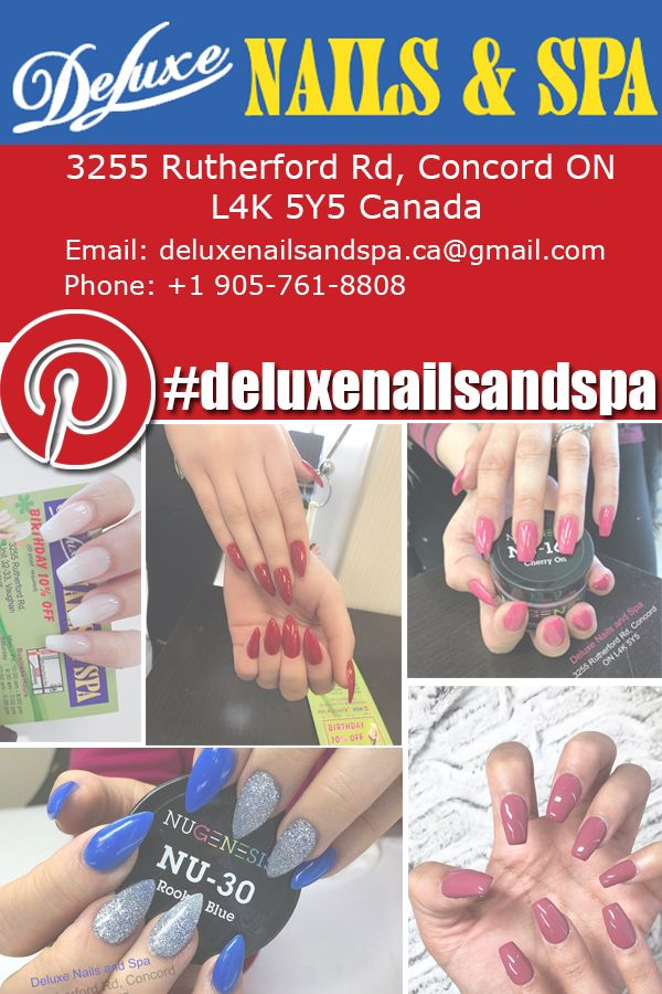 Pin On Deluxe Nails And Spa News