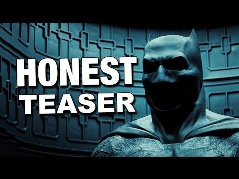 Honest Teaser: Batman v. Superman: Dawn of Justice #batmanvsuperman #dawnofjustice #honesttrailer #trailer #funny #humor #geek #dccomics