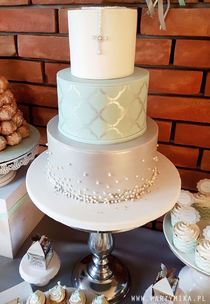 tort na komunie holy communion cake