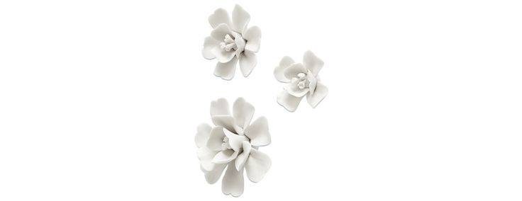 Magnolia wall decoration set/3 - Design from BoConcept