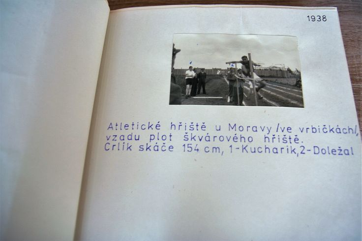 The 80th anniversary of athletics in Otrokovice - you can see The Chronicle in the Tourist Information Centre Otrokovice.