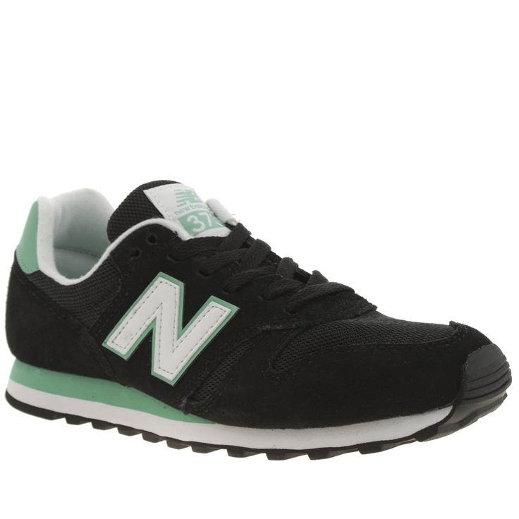 new balance 373 black and white
