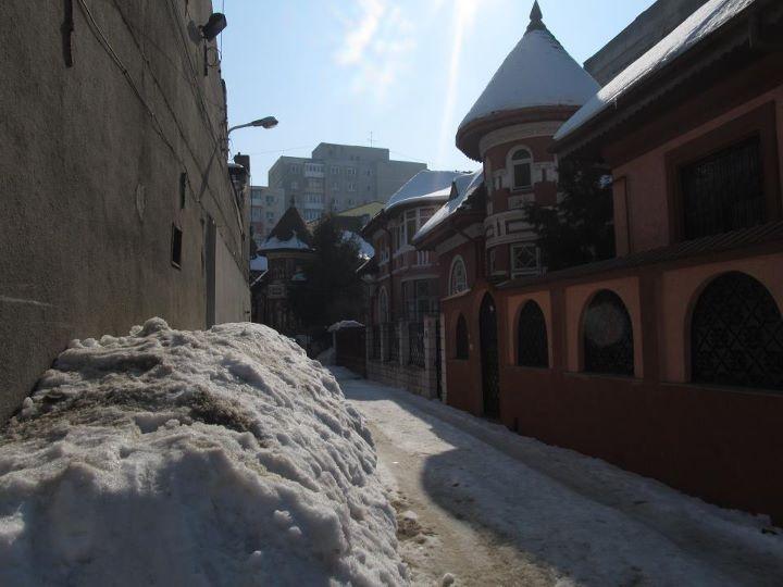 A hidden street