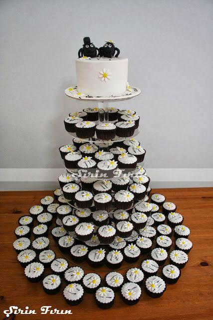 wedding cake tower, wedding cupcake tower, wedding cake, engagement cake, örümcekli pasta, örümcekli düğün pastası, pasta kulesi, cupcake kulesi , cupcake tower, nişan pastası