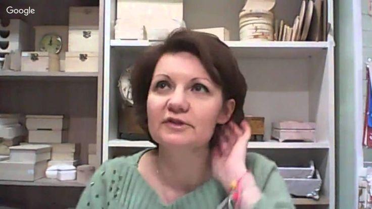 2 день конференции «Декупаж от А до Я. Секреты мастеров», Анна Стойчева.