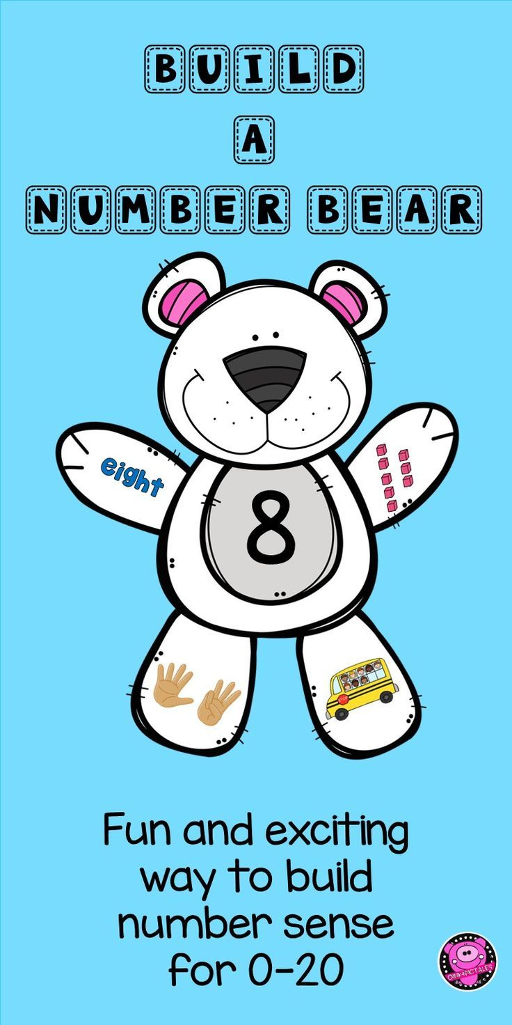 Number Identification Activities 1 to 20 for Kindergarten and First ...