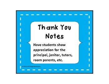 Thank You Notes Bundle- Staff Appreciation | Staff ...