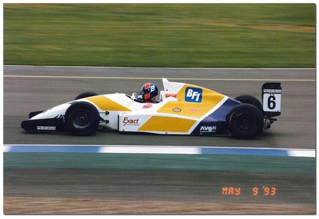 Jan Lammers - Reynard 93D Cosworth AC - Il Barone Rampante - BRDC International Trophy - 1993 International F3000 Championship, round 2 - © Antsphoto