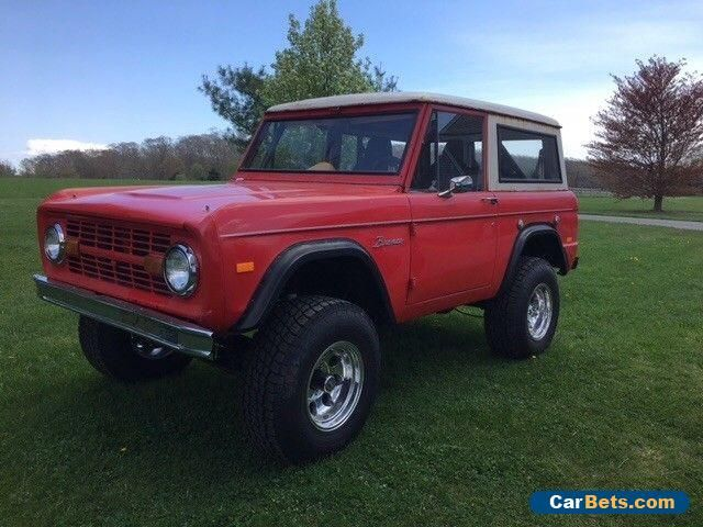 Car For Sale 1968 Ford Bronco