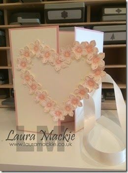 Stampin' Up! UK Demonstrator Laura Mackie: Happy Wedding Day