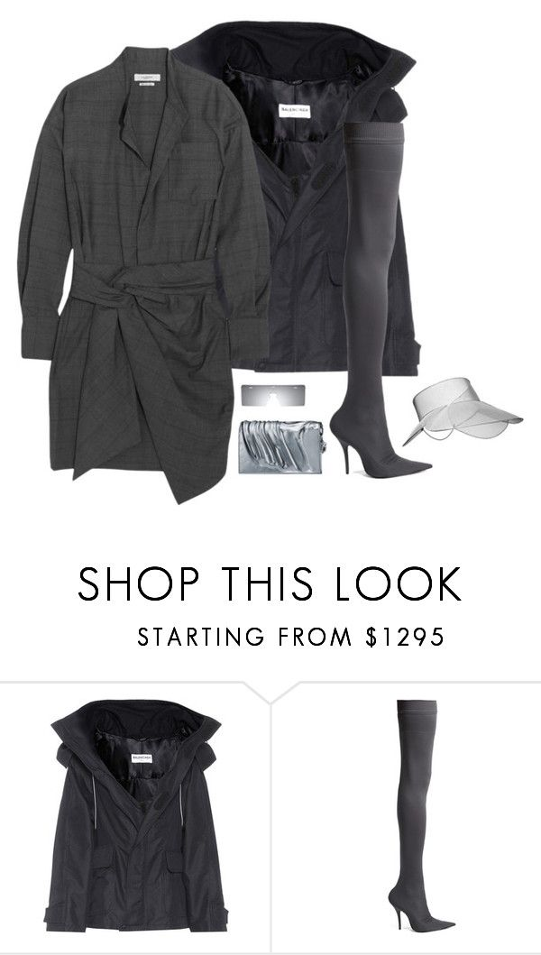 """Balencia editorial look and dior homme sunglasses"" by hugovrcl ❤ liked on Polyvore featuring Balenciaga and Étoile Isabel Marant"