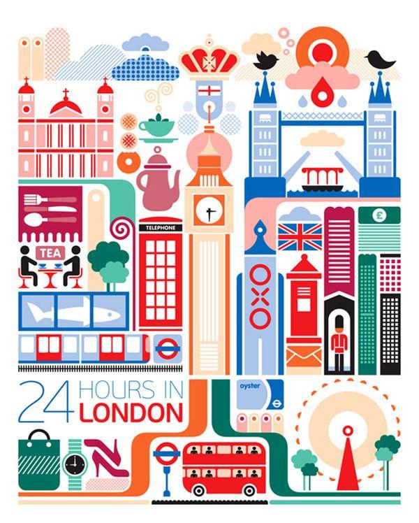24 hours in London | Fernando Volken Togni
