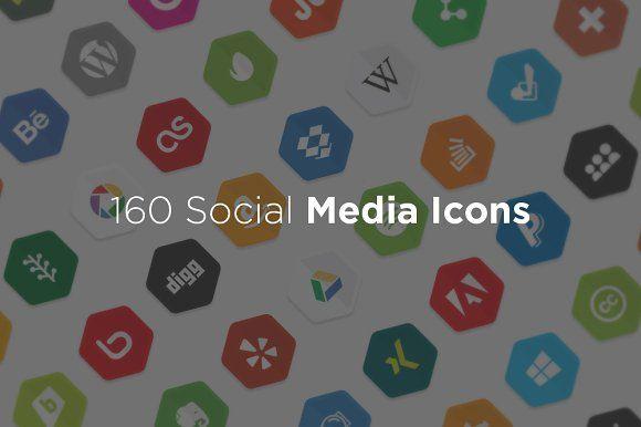 160 Social Media Icon - Icons