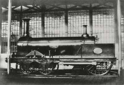 Crampton Patent Locomotive, 1851, London to Paris, Folkstone, Boulogne, Dover, Calais...