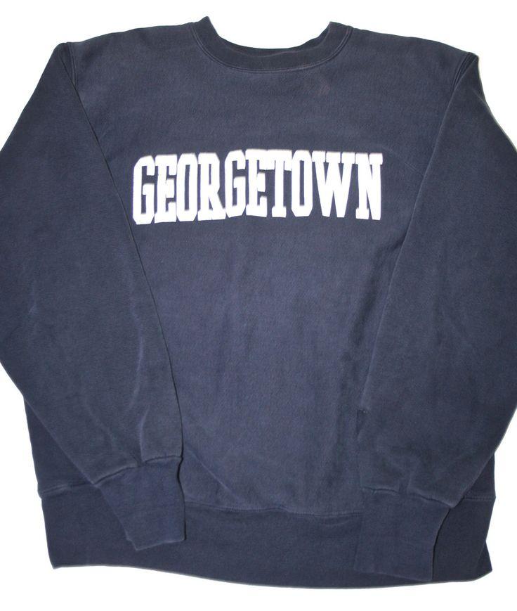Vintage Georgetown College Sweatshirt Mens Size XL $33.00