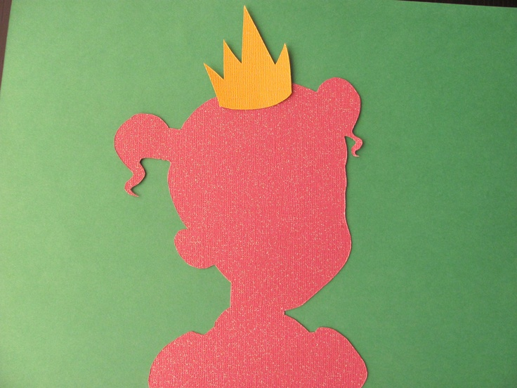 Disney inspired Princess Tiana from The Princess and the Frog silhouette  for a nursery or little girl s room  Paper Art. 18 best Amiyah s room at nana house images on Pinterest