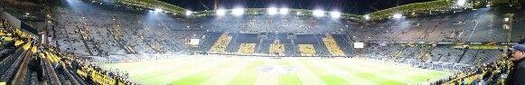Signal Iduna Park in Dortmund, Nordrhein-Westfalen #stadium #soccer #football #borussiadortmund #dortmund #signalidunapark #westfalenstadion #germany #europe