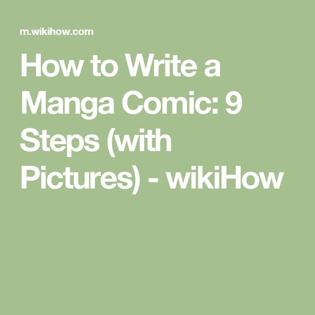 how to write a manga synopsis