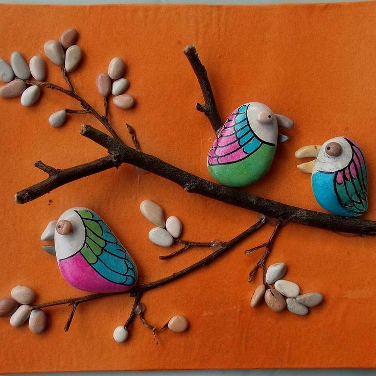 Stone bird Cute . . #bird #stonebird …