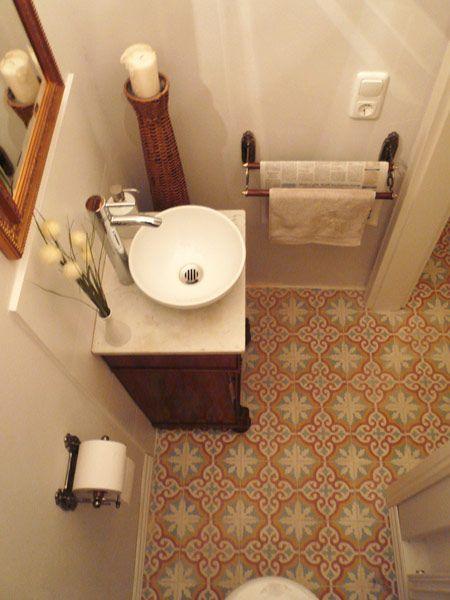 Die besten 25 badezimmer zementfliesen ideen auf pinterest badezimmer bodenfliesen rustikale - Zementfliesen dusche ...