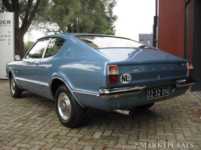 Ford Taunus 1.3L Coupe `72