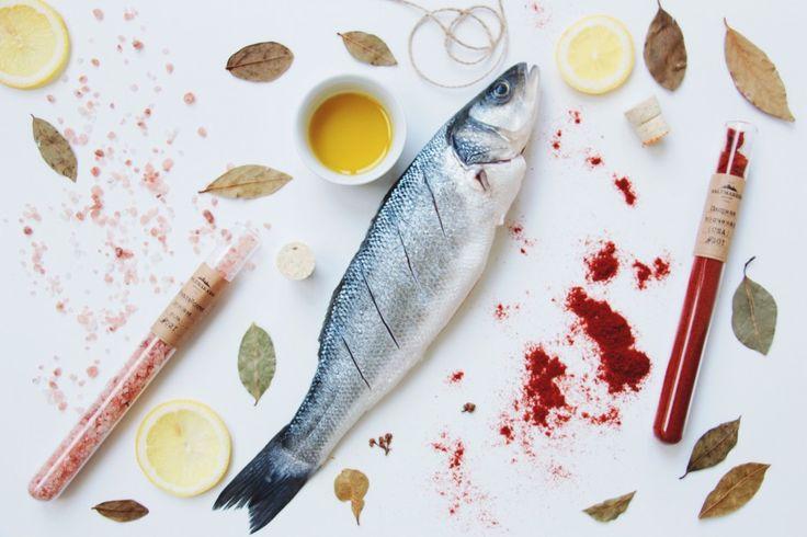 Рецепт сибаса в духовке #сибас #рыба #рецепт
