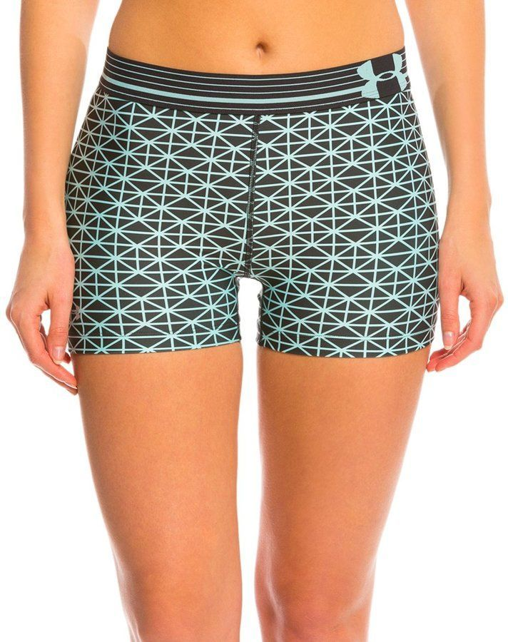 $17.99 workout shorts so comfortable it's like working out in your underwear!! lol  #workout #workoutgears  #workoutmotivation  #workoutfromhome #workoutshorts  Under Armour Women's HeatGear Armour Compression Shorty (Printed) 8134296