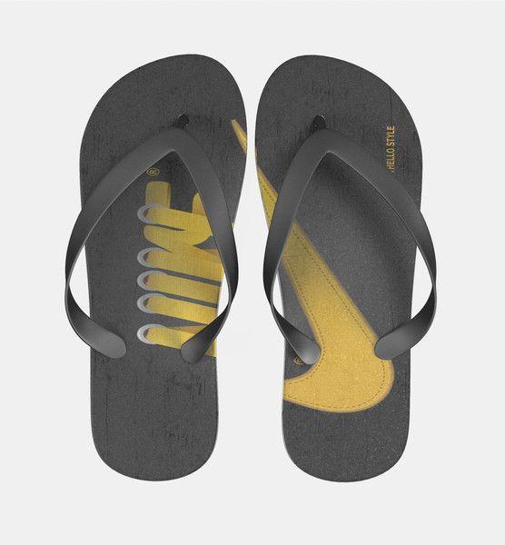Nike Laces Hugo Silva Flip Flops Men Women