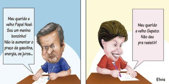 CARTINHA DE NATAL | Humor Político